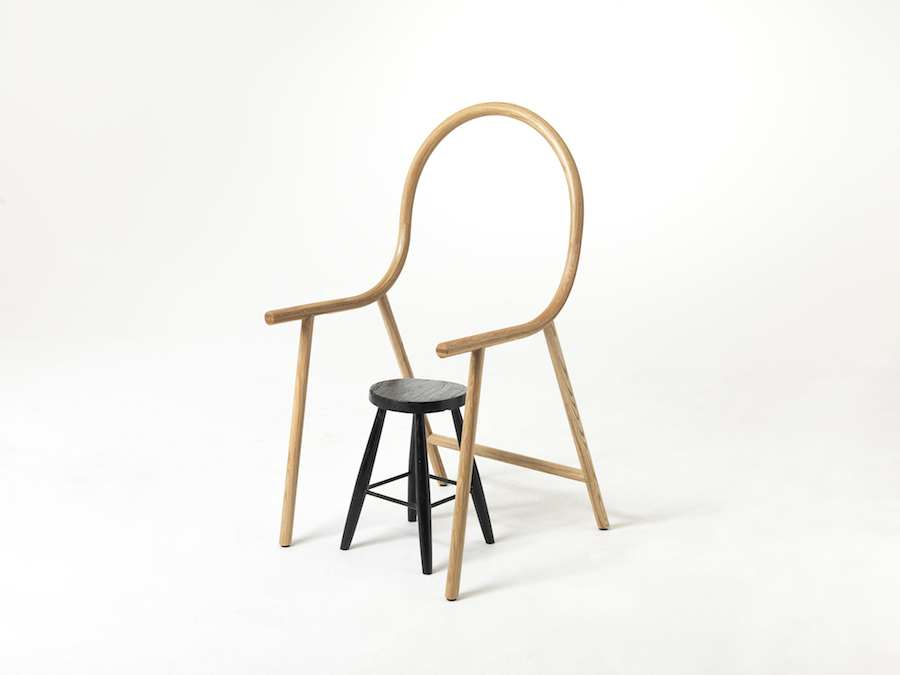 ARM anti-chair by Clark Bardsley - Photo by Clark Bardsley Design.