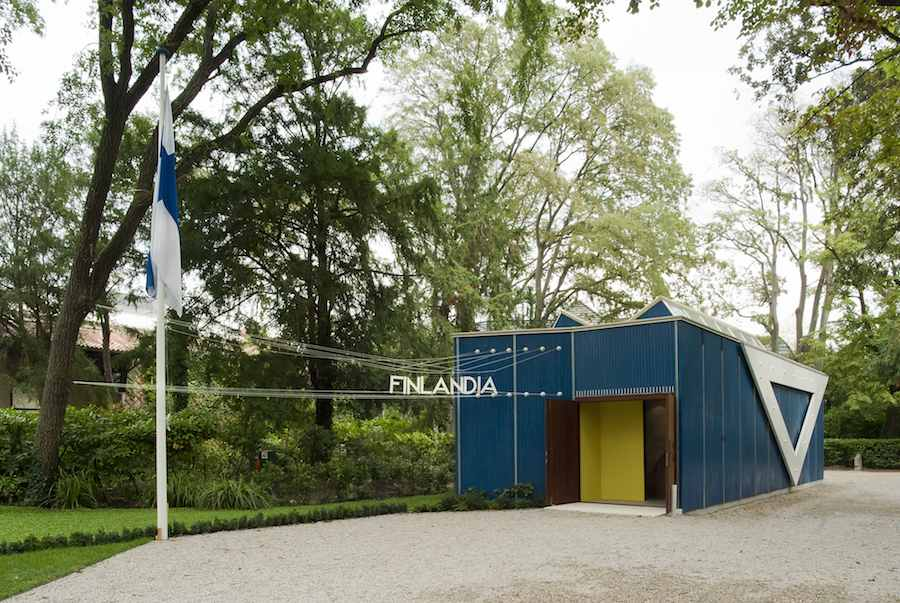 Finnish Pavilion designed by Alvaro Aalto - Photo by Ugo Carmeni.