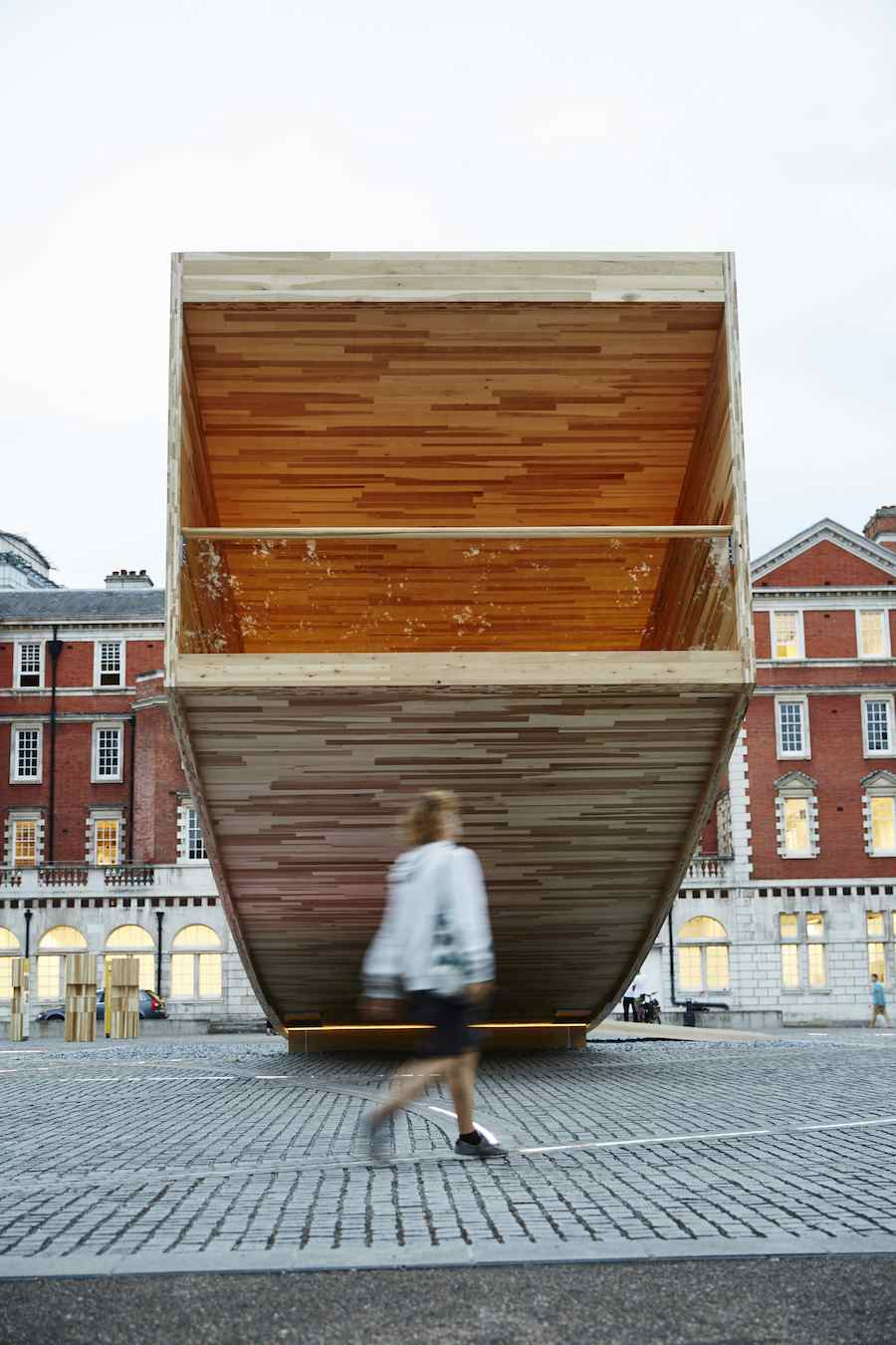 THE SMILE by Alison Brooks Architects - Photo by Dav Stewart, courtesy of London Design Biennale.