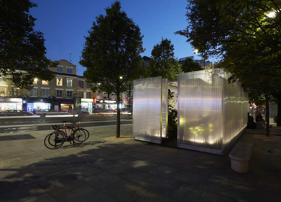 MINI LIVING Forests by Asif Khan - Courtesy of London Design Festival.