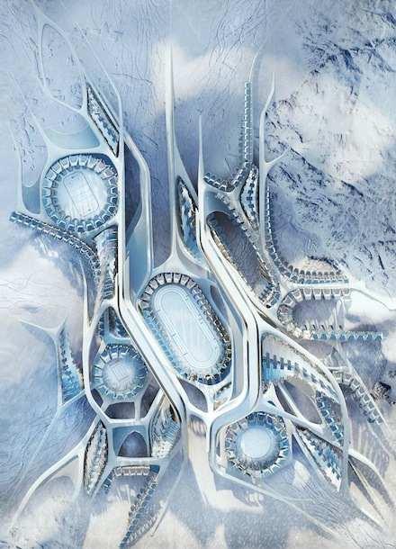 Antarctica Architecture