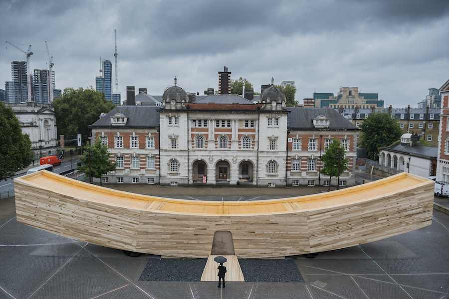The Smile by Alison Brooks Architects - Photo by Guy Bell.