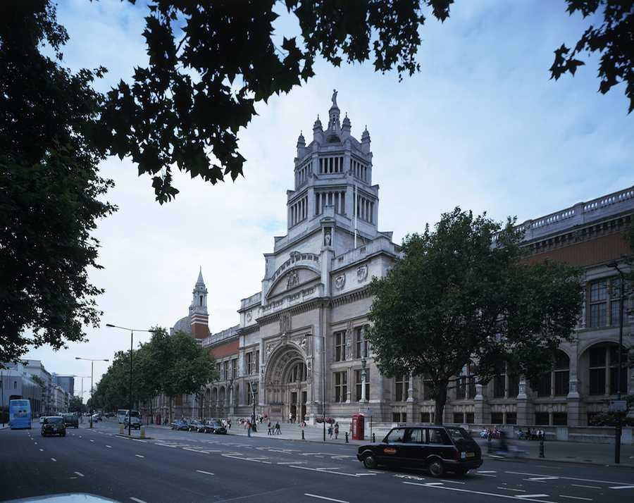 Victoria & Albert main entrance street view - ©Victoria & Albert.