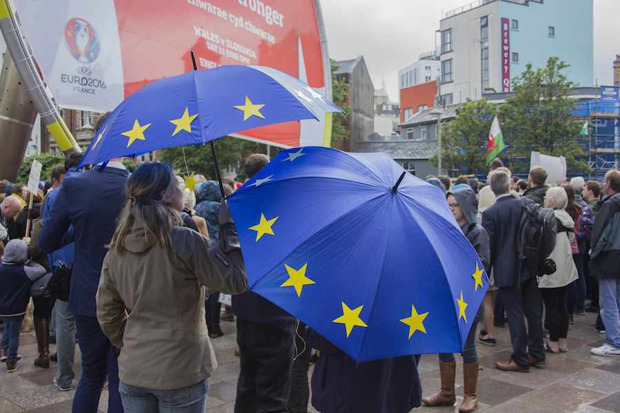 Remain campaigners - Photo by Jeremy Segrott, Flickr CC.