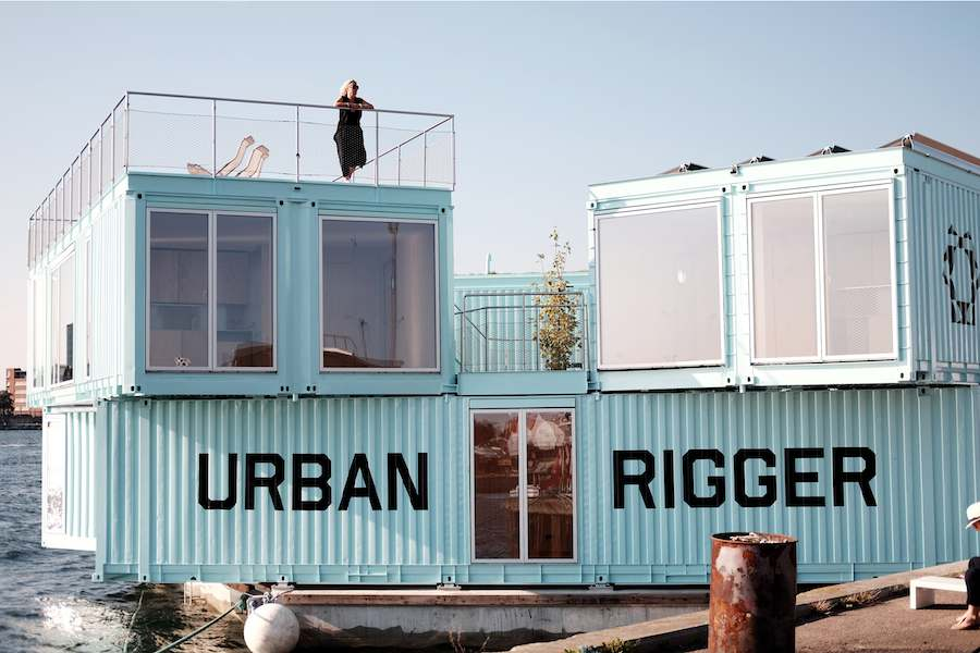 Urban Rigger - Photo by Laurent de Carniere, courtesy of BIG.