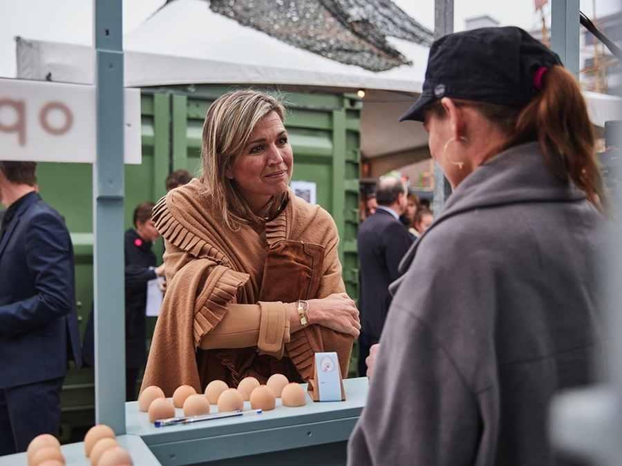 Queen Maxima visits Dutch Design Week - Photo © Jeroen van der Wielen.