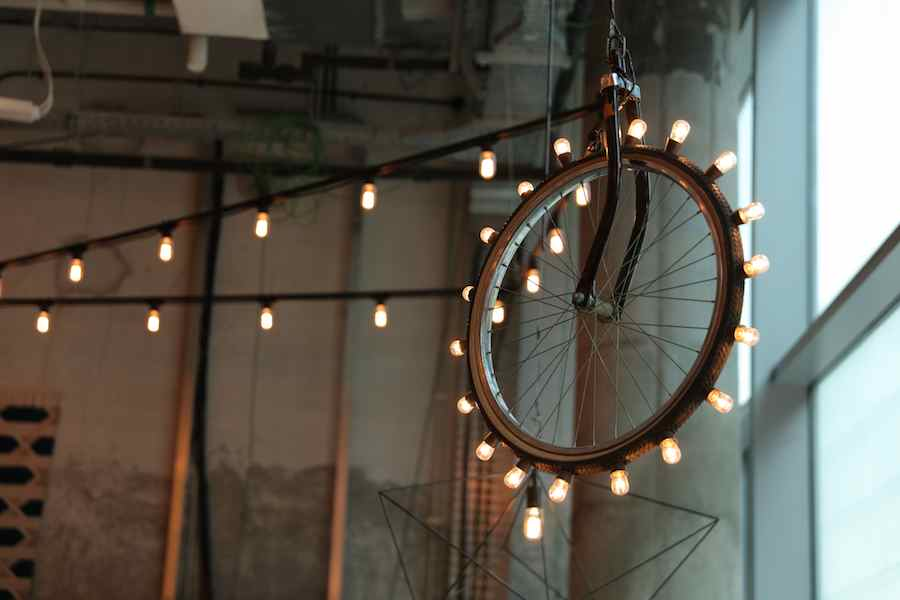 Lighting wheel by Mohamed Nabi Labib.