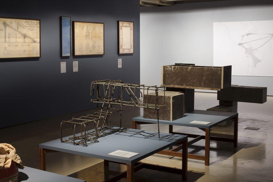"Lisbon Architecture Tirennale 2016: ""The Building Site"" exhibition – ©Tiago Casanova."