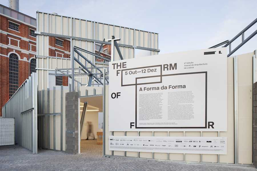 Lisbon Architecture Triennale 2016 THE FORM OF FORM @ MAAT - Photo ©Tiago Casanova, courtesy of Lisbon Architecture Triennale.