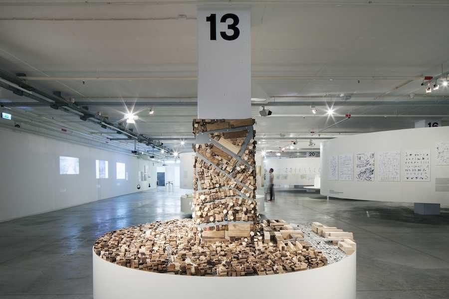 "Lisbon Architecture Tirennale 2016: ""The World in Our Eyes"" exhibition – ©Tiago Casanova."