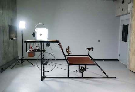 Human Powered 3D Printer