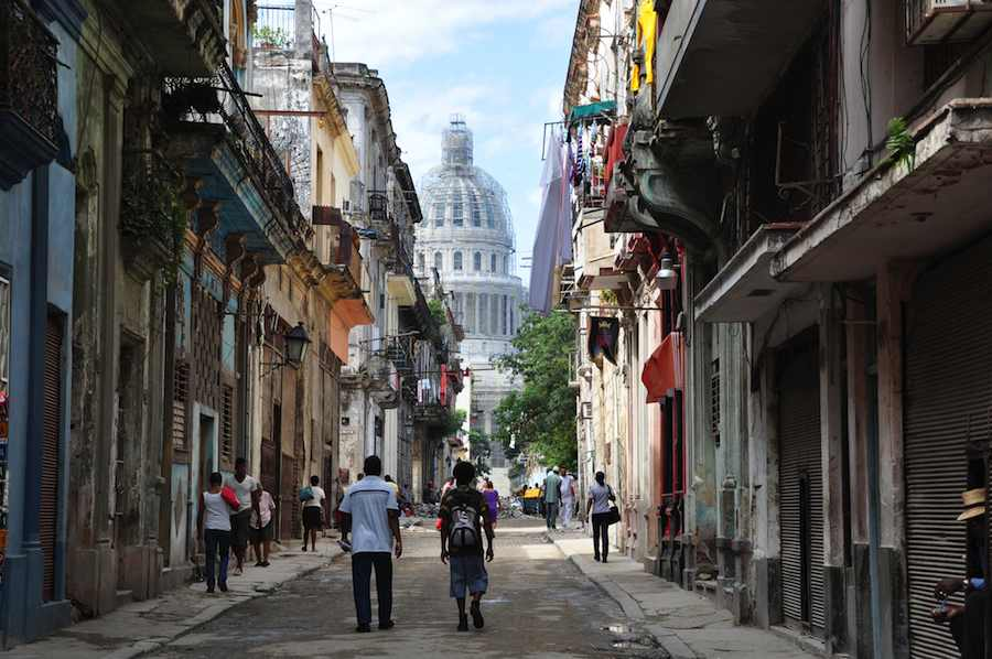 Havana Street - Photo by halbag Flickr CC.