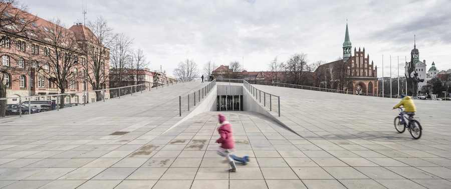 Szczecin National Museum by KWK Promes - Photo by Juliusz Sokolowski, courtesy of KWK Promes.