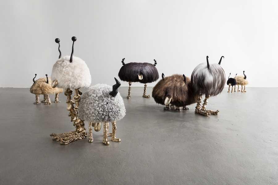 Mini beasts by The Haas Brothers - Corutesy of Joe Kramm and R & Company.