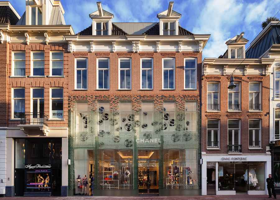 Shopping Award: MVRDV Chanel Flagshipstore in Paris.