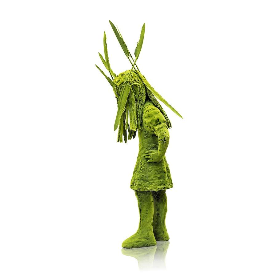 """""""Voodoo Mossgirl"""", by Kim Simonsson, @ Jason Jacques Gallery - courtesy of Jason Jacques Gallery."""