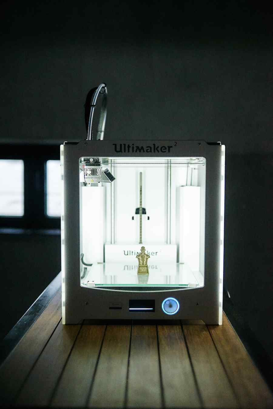 The Trophy: human powered 3D-printer by Urbain Studio - Photo by digitalamigos.net