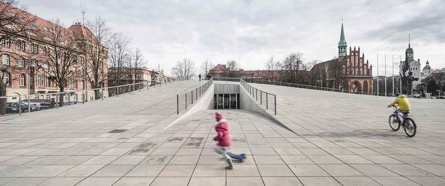 Culture Award: National Museum in Szczecin, Poland, by Robert Konieczny.