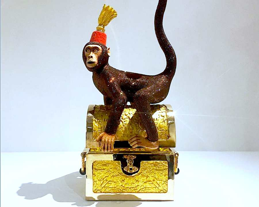 """Monkey Business"" by Studio Job @ Carpenters Workshop Gallery - Photo via Instagram @mfrederickdesign."