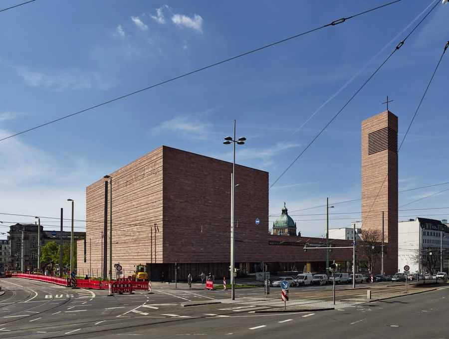 Religious Award: St. Trinitatis Church in Leipzig, Germany, by Schulz und Schulz.