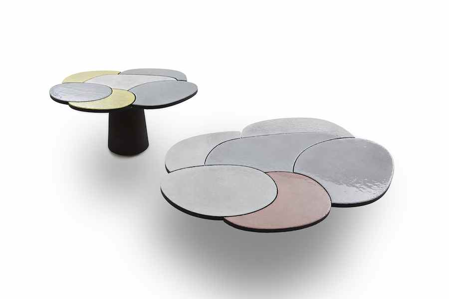 Babled Design: Etna stone table - Photo by Carlo Lavatori.