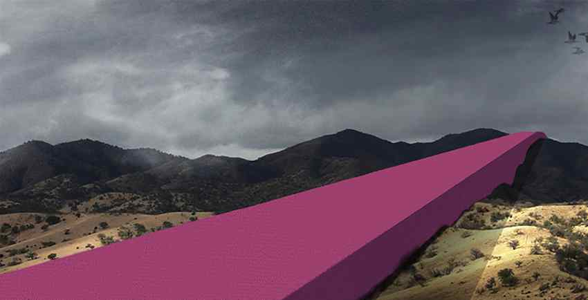 Pink Wall proposal by Estudio 314.