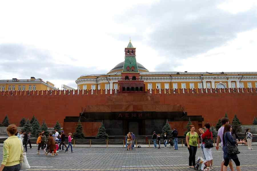 Lenin Mausoleum - Photo by yaili, Flickr CC.