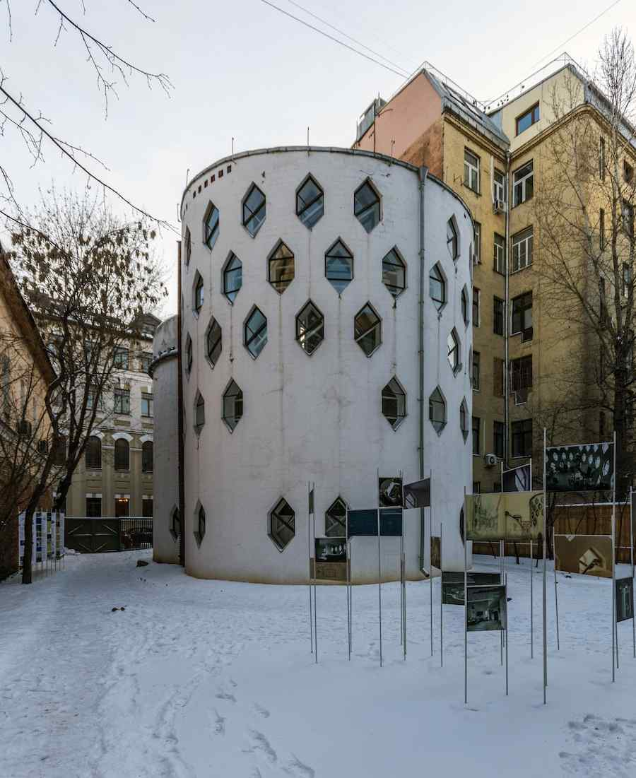 Melnikov House - Photo by Alex Florstein Fedorov Flickr CC