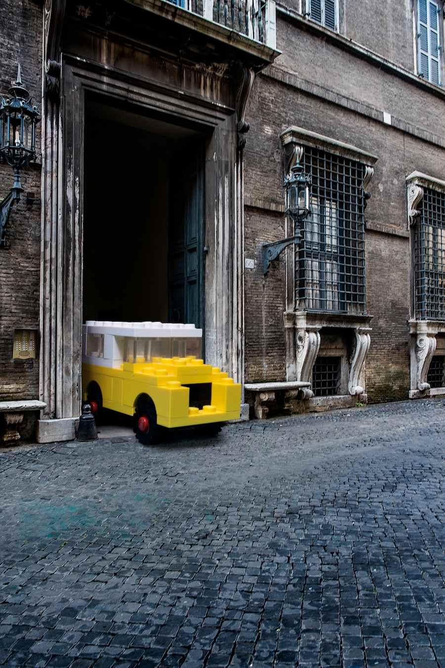 LEGO outside LEGOLAND - Image ©Domenico Franco, courtesy of Domenico Franco.