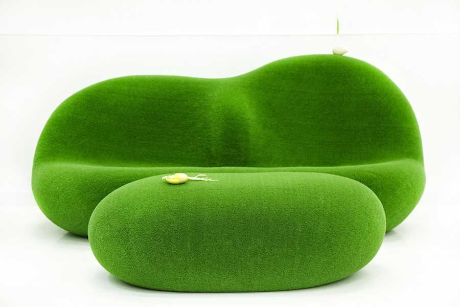 Botanical Sofa and Table by Azuma Makoko - Courtesy of Chamber NYC.