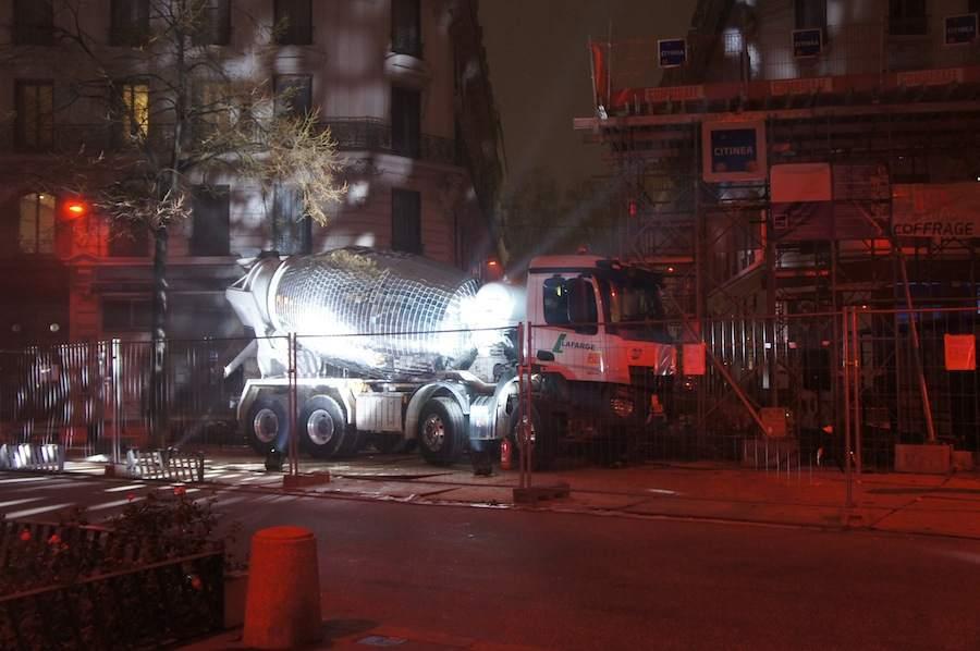 Cement mier disco-ball by Benedetto Bufalino - Photo: courtesy of Benedetto Bufalino.