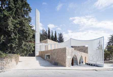 Lebanese mosque by L.E.F.T.