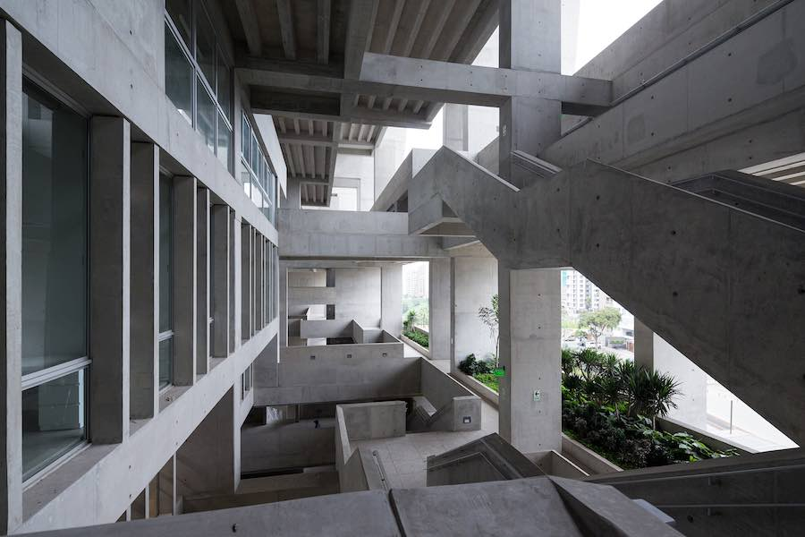 Arena for Learning UTEC University in Lima, Peru, by Grafton Architects - Photo by Iwan Baan.