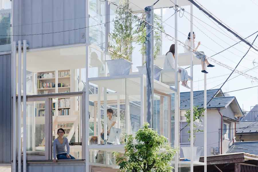 """The Japanese House. Architecture and Life after 1945"" Sou Fujimoto Architects, House NA, Tokyo, Japan, 2011 - Photo by Iwan Baan."