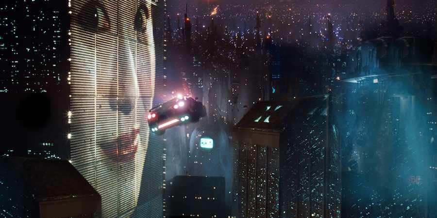 Blade Runner (1982) - Frame from the official trailer.