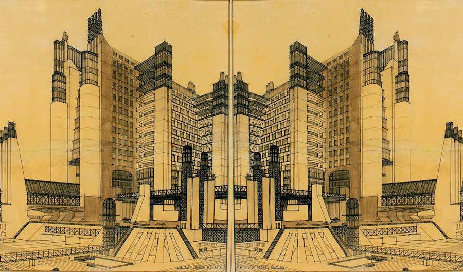Project by Antonio Sant'Elia.