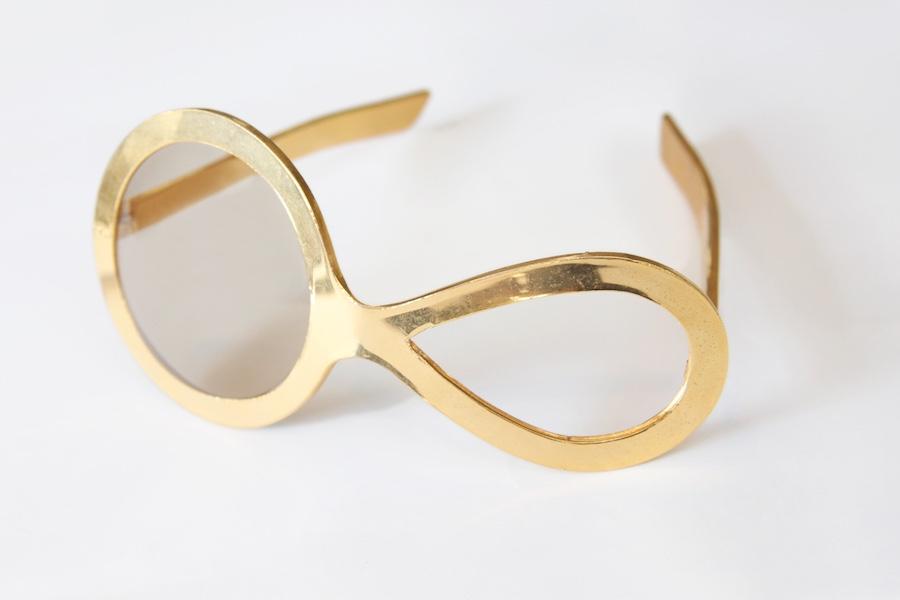 Sunglasses, Pierre Cardin, plastic, 1960 - Photo by Eli Bohbot.