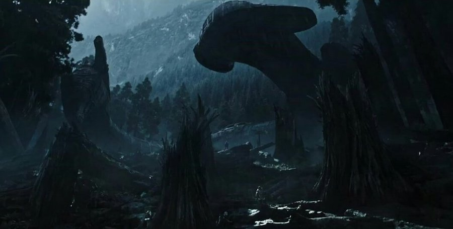 Alien Covenant (2016) - Frame from the official trailer.