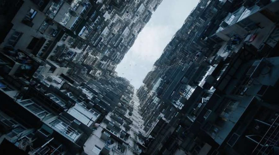 Ghost in the Shell – Frame from the official trailer.