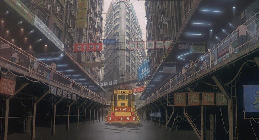 Ghost in the Shell Arise - Frame from the official trailer.