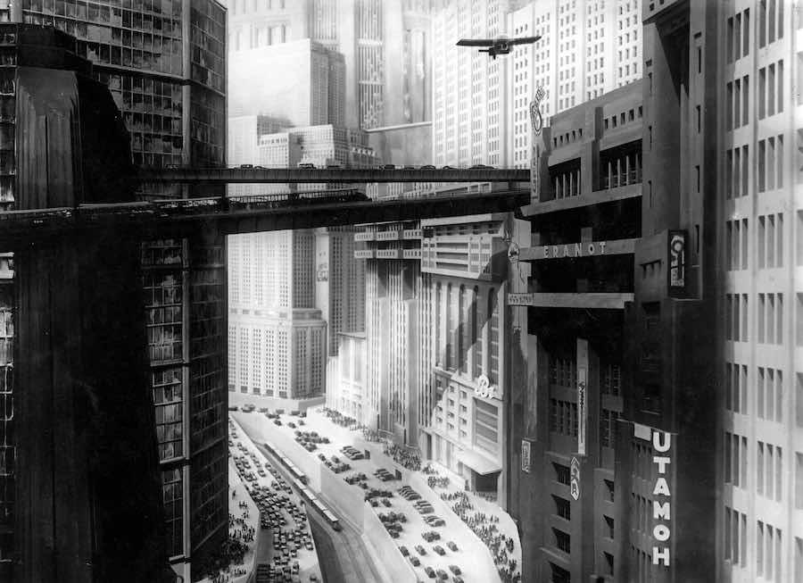 Metropolis, Fritz Lang, 1927.