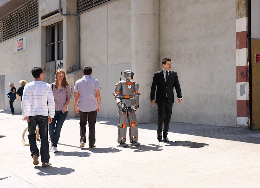 """""""Hello Robot"""" at Vienna Biennale - Courtesy of Vienna Biennale."""