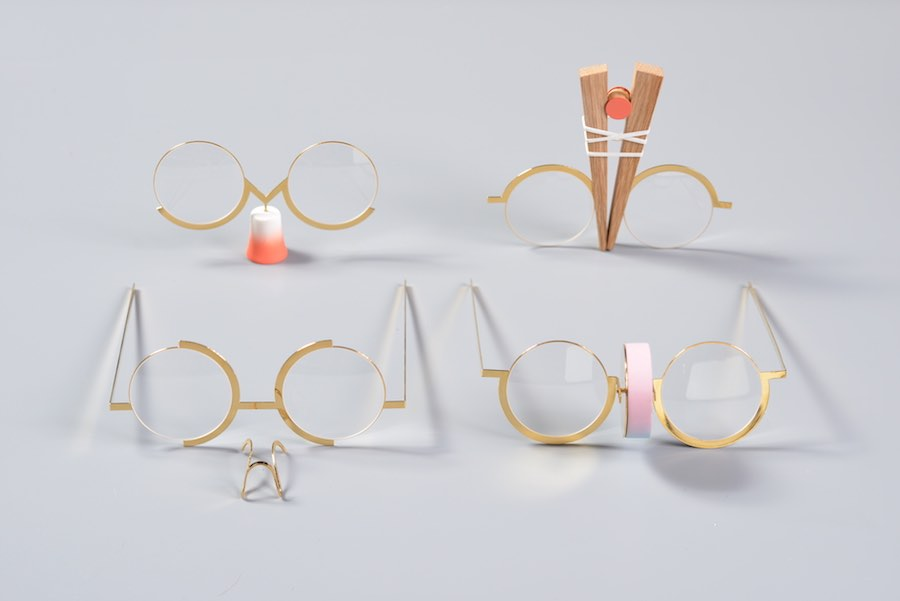 Eyewear by Dana Ben Shalom explores the relationship between glasses and the nose.