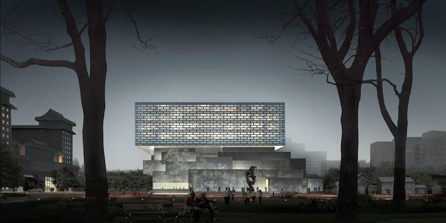 Guardian Art Center by Büro Ole Scheeren in Beijing - © Büro Ole Scheeren.