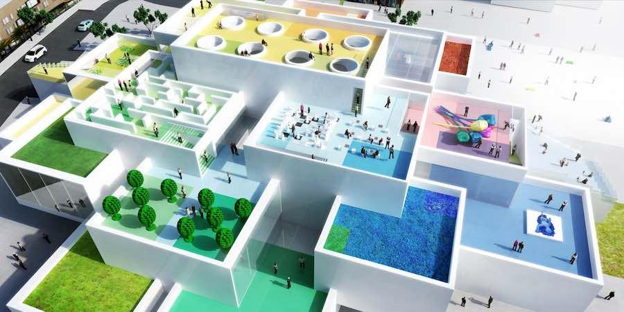 LEGO House by Bjarke Ingels Group in Billund, Denmark - Courtesy of BIG.