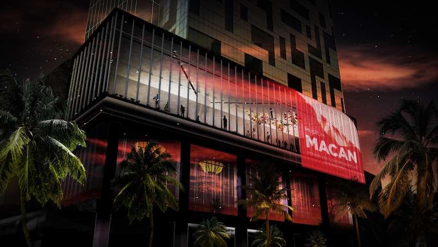 Museum MACAN by Met Studio Design in Jakarta - Image by MET Studio Design.