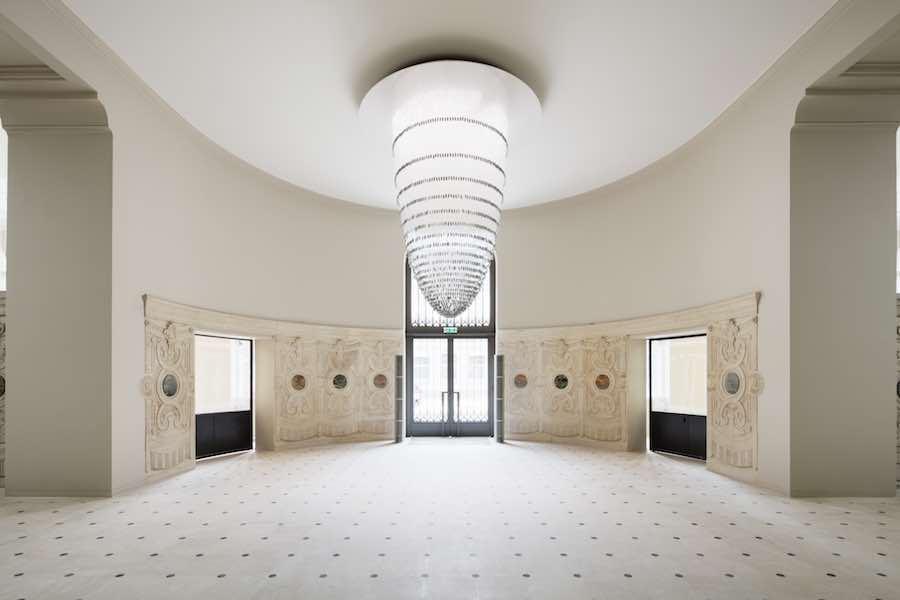 Vestibule Labrouste @ Biblioteque Nationale de France - © Takuji Shimmura.