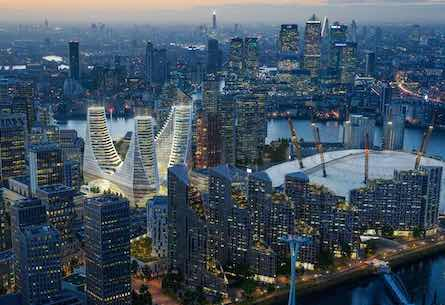 Calatrava Greenwich Peninsula London