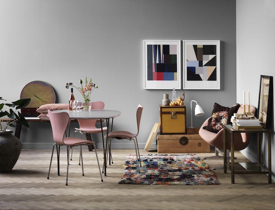 Nordic design classics: Piet Hein: Series Table - Courtesy of Republic of Fritz Hansen.