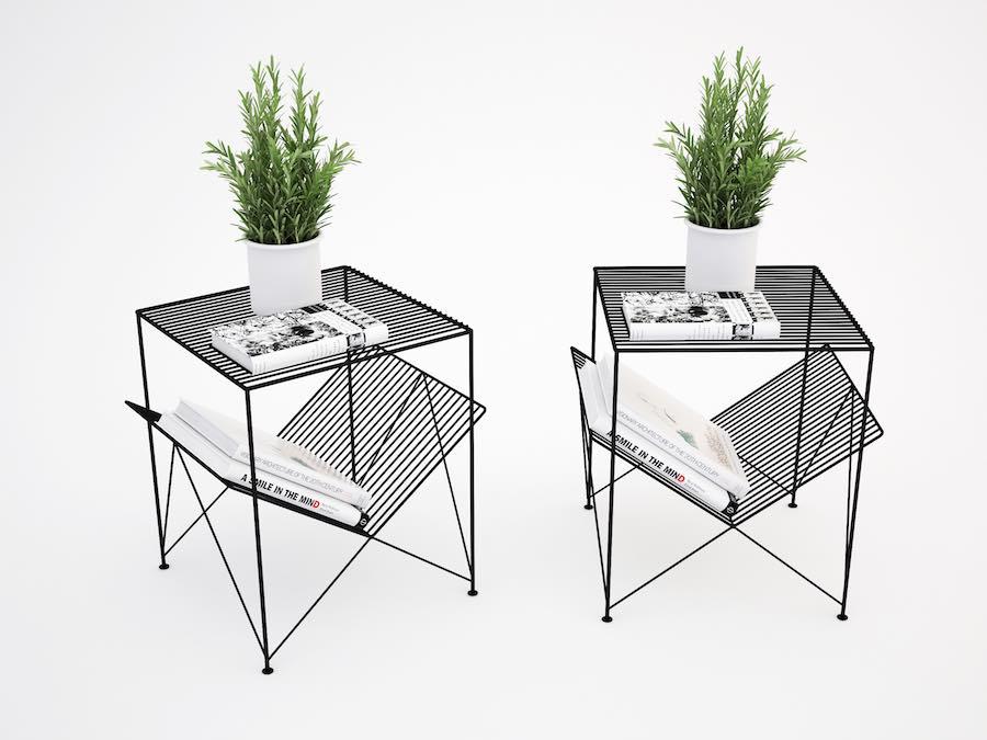 Atria side table - Photo: courtesy of Mustafa Basaran at Gliese Design.